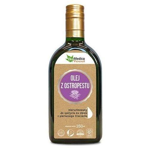 Olej z nasion ostropestu z pierwszego tłoczenia nierafinowany 350ml