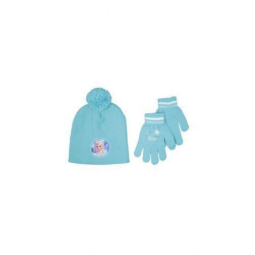 Komplet Czapka+rękawiczki Frozen 3X31AK (5900298085787)
