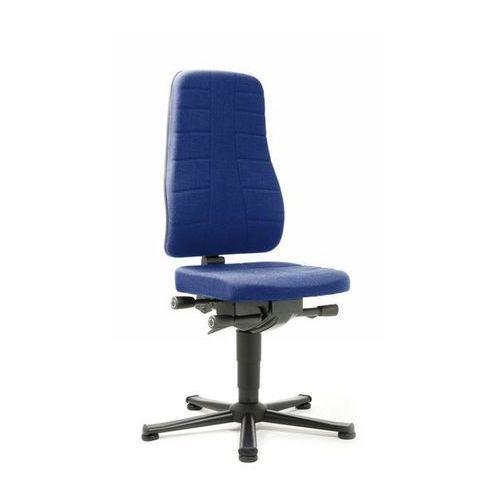 Bimos Obrotowe krzesło do pracy z funkcjami ergonomicznymi,na ślizgaczach podłogowych