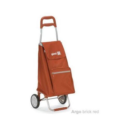 Wózek na zakupy 30kg/45l Argo czerwony (wózek na zakupy)