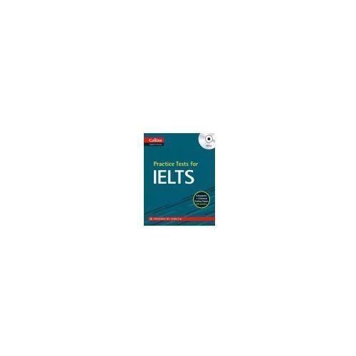 Practice Tests for IELTS + MP3, oprawa miękka