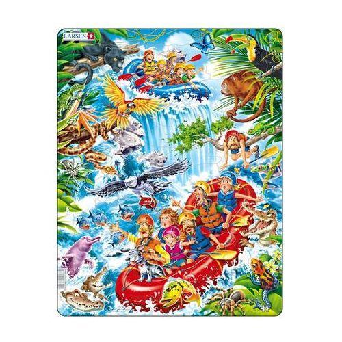 Puzzle MAXI - Raft na Amazonce/35 dílků neuveden