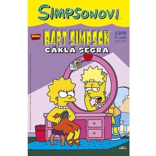Simpsonovi - Bart Simpson 3/2018 - Cáklá ségra Matt Groening