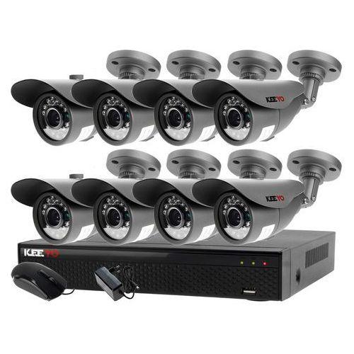 Zestaw do monitoringu zewnętrzne kamery 8 x LV-AL20MT + Rejestrator LV-XVR84N, ZM7498