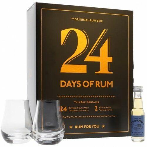 1423 Rum kalendarz adwentowy 24 days of rum 41,7% 0,46l