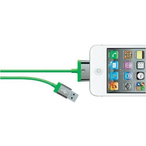 Belkin Kabel usb 2.0,  f8j041cw2m-grn, do ipoda, iphone'a, ipada, 2 m, zielony