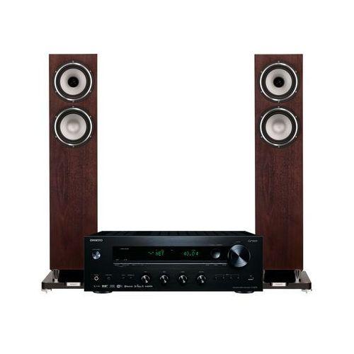 Zestaw stereo tx-8270b + tannoy revolution xt 6 f orzech + darmowy transport! marki Onkyo