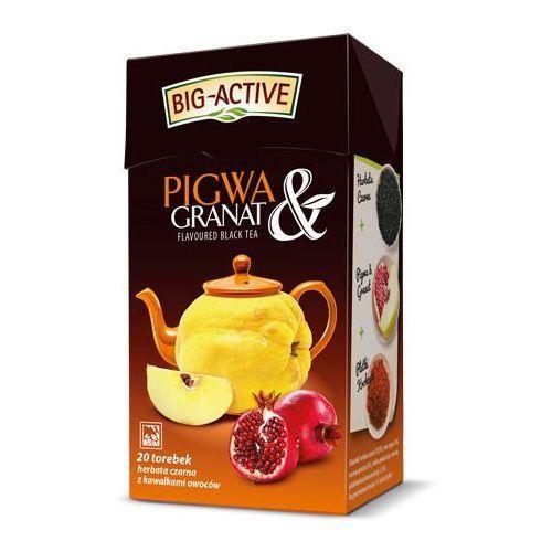 Big Active Pigwa Granat herbata czarna ex20