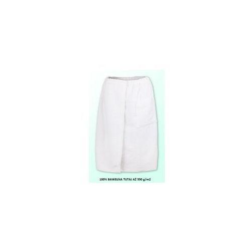 Sauna kilt ręcznik biały 100% bawełna uniwersalny 70*140 550 g/m2