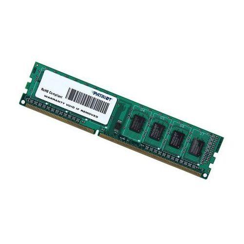 Pamięć Patriot Memory DDR3 DIMM 4GB 1600MHz (1x4GB) - PSD34G160081- natychmiastowa wysyłka, ponad 4000 punktów odbioru!