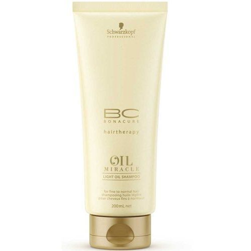 Schwarzkopf Professional BC-BONACURE hairtherapy OIL MIRACLE Light Oil Shampoo 200 ml (4045787291513)