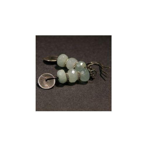 Biżuteria - Kolczyki - Amazonit w srebrze od KIOSQUE