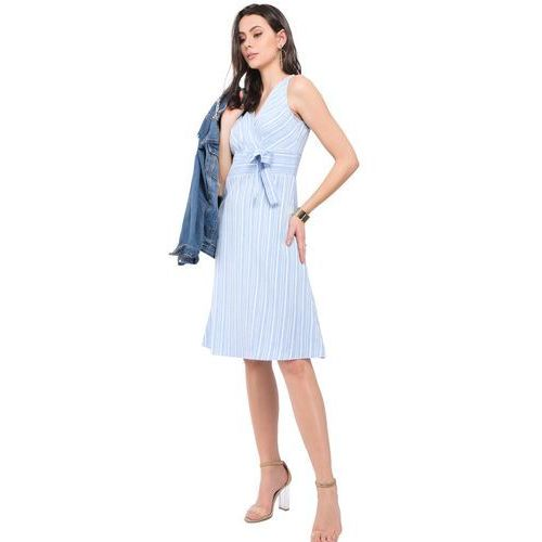 f111a4ddfe ... William de faye sukienka damska xxl jasny niebieski 219