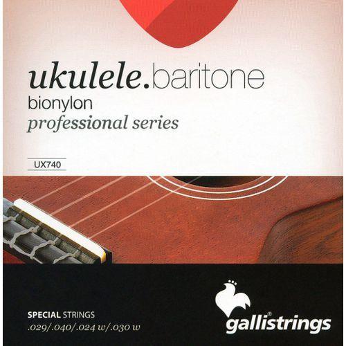 ux740 - struny do ukulele barytonowego marki Galli