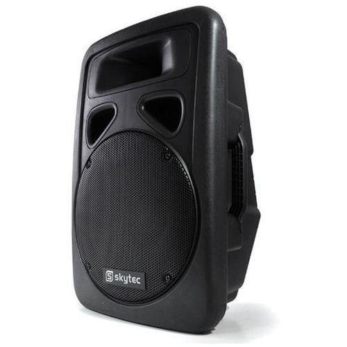 """Kolumna 38cm (15"""") z aktywnym głośnikiem 1500w marki Skytec"""