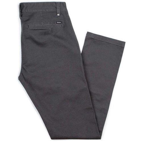 Spodnie - grain chino pant washed black (wablk) rozmiar: 34, Brixton