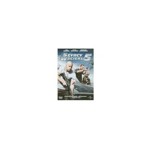 Szybcy i wściekli 5 (DVD) - Chris Morgan OD 24,99zł DARMOWA DOSTAWA KIOSK RUCHU (5900058128464)