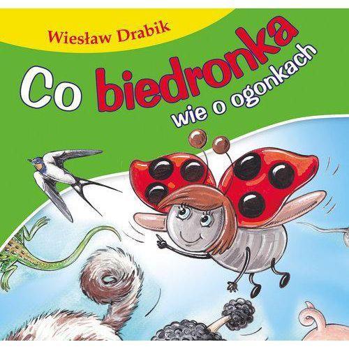 Co biedronka wie o ogonkach. Bajki dla malucha - Wiesław Drabik (9788379154197)