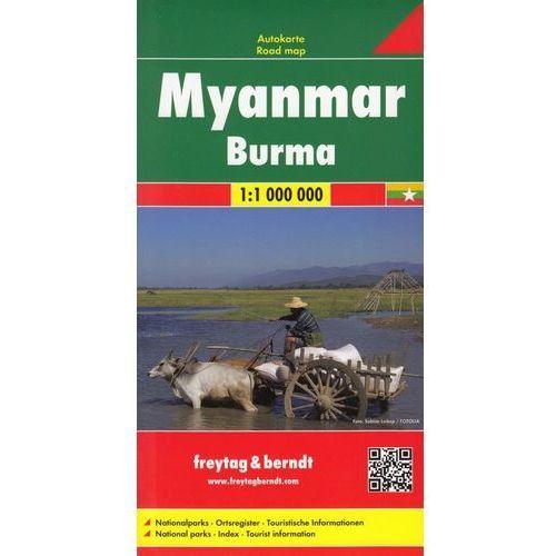 Birma mapa 1:1 000 000 Freytag & Berndt (9783707914061)