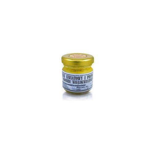 Miód wielokwiatowy z pyłkiem i propolisem 45 g
