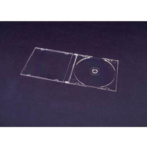 Pudełko na płytki CD i DVD Slim clear matt LUX (10pak)