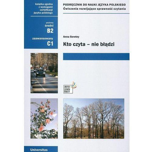 Kto Czyta Nie Błądzi Podręcznik Do Nauki Języka Polskiego Poziom Średni I Zaawansowany (212 str.)