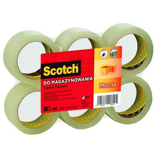 3m Taśma pakowa scotch® (s5066f6), akrylowa, 50mm, 66m, transparentna
