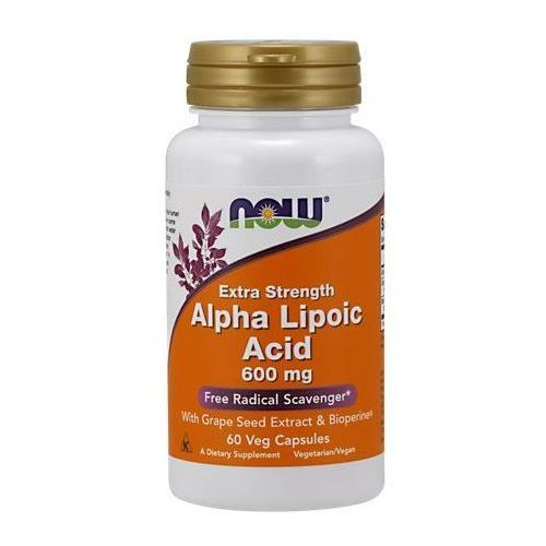 Kapsułki ALA (Kwas Alfa Liponowy) Plus Grape Seed Ext & Bioperine 60 kaps.