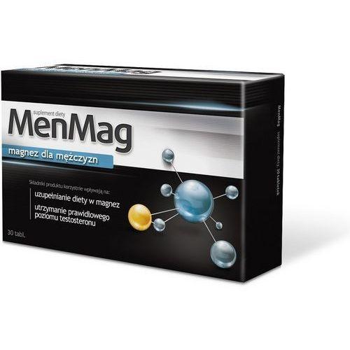 MenMag 30 tabl. Magnez dla mężczyzn plus MACA i CYNK 845850