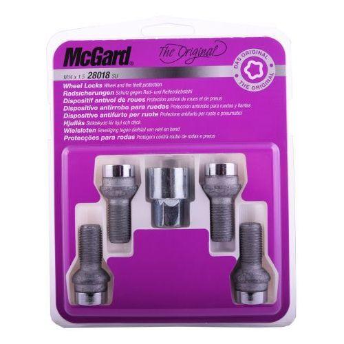 McGard śruby zabezpieczające do felg oryginalnych Seat 28018 SU