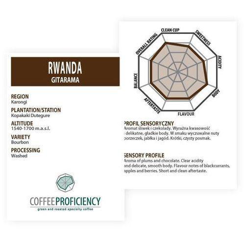 Coffee proficiency rwanda gitarama 250g