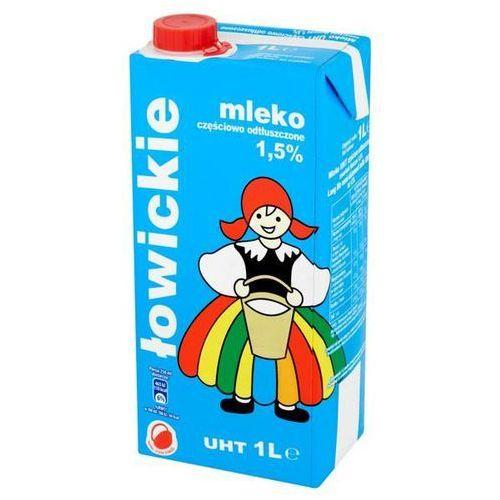 Mleko ŁOWICKIE 1l. 1,5% op.12