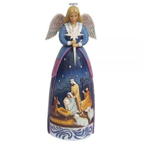 Jim shore Anioł szopka nativity angel statue 4059402 50cm figurka ozdoba świąteczna