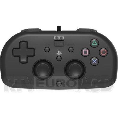 Kontroler HORI Mini Gamepad Czarny do PS4 (4961818028371)