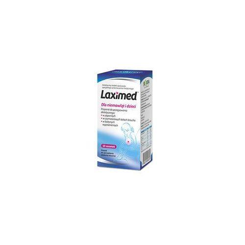 Laximed dla niemowląt i dzieci x 10 sasz (lek na zaparcia)