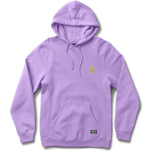Bluza - og bear embroidered hoody lavender/yellow (lvyl) rozmiar: m marki Grizzly
