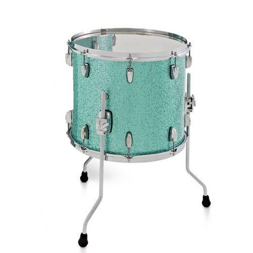 Gretsch floor tom new renown maple 2016 turquoise premium sparkle