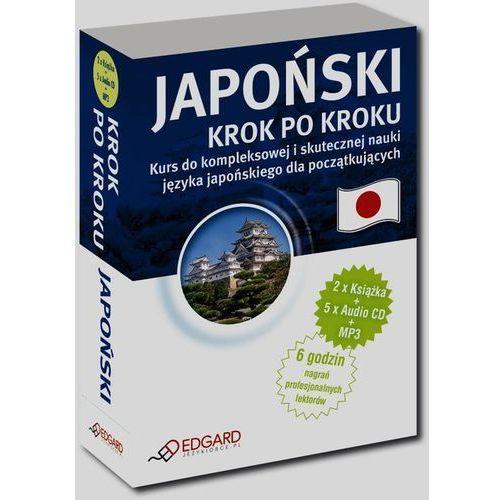 Japoński - krok po kroku (2 książki + 5 CD + MP3), praca zbiorowa