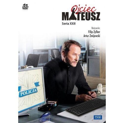 Telewizja polska s.a. Ojciec mateusz. seria 22 (4 dvd) - artur żmijewski, filip zylber