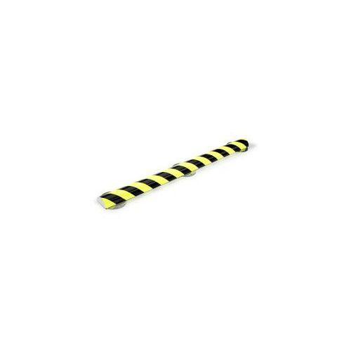 Profil ostrzegawczy i ochronny knuffi®,typ c+, dł. 500 mm, przekrój: półokrągły marki Shg pur-profile