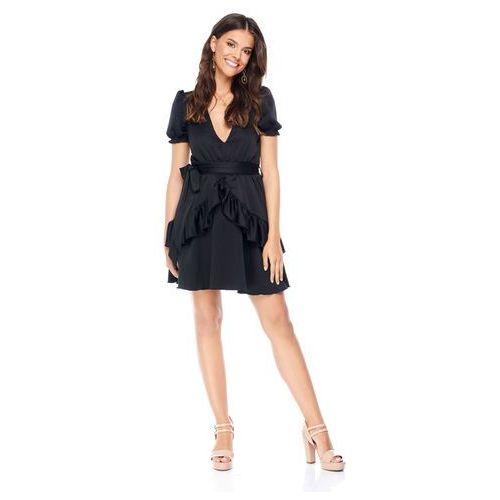 Sukienka erica w kolorze czarnym marki Sugarfree