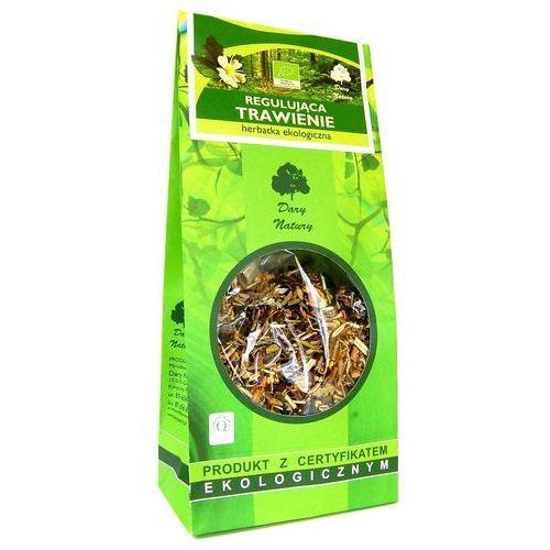 Regulująca trawienie eko 150g - herbatka dary natury marki Dary natury - herbatki bio