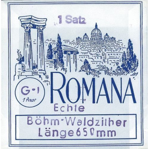 Romana (661206) struny do cytry leśnej - komplet 9-strunowy