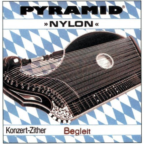 Pyramid (663313) struny do cytry Nylon. Cytra koncertowa - Komplet