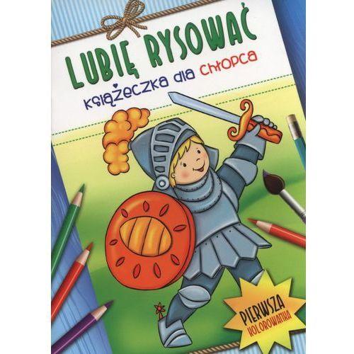 Lubię rysować. Książeczka dla chłopca + zakładka do książki GRATIS (9788377138359)