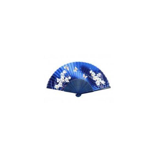 Wachlarz - Motyle granatowy