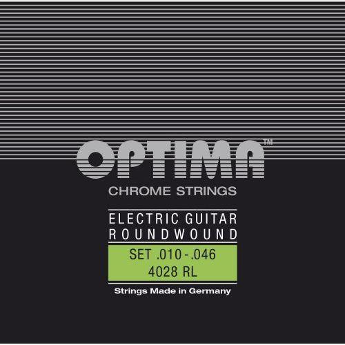 Optima e6 (674686) struny do gitary elektrycznej chrome strings round wound e6
