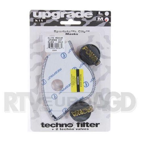 Respro Upgrade Kit Powa Elite rozmiar M (czarno-złoty), RUK04 BK/G#M