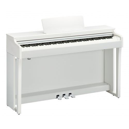 Yamaha clp 625 wh clavinova pianino cyfrowe (kolor: biały)