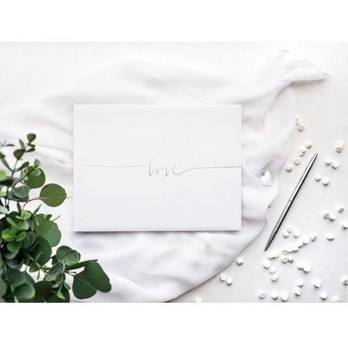 Księga gości weselnych Love - 22 kartki, #A923^m